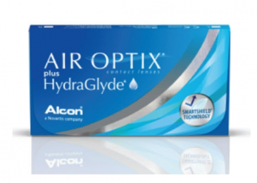 Air Optix Plus HydraGlyde Maandlens 2x 3-pack