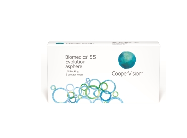 CooperVision Biomedics 55 Evolution 4x6 pack